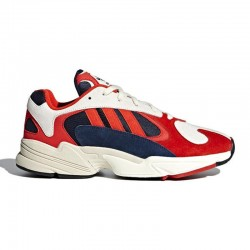 Adidas Yung 1 Blancas y Rojas