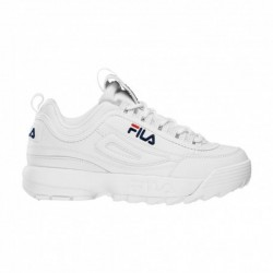 Fila Disruptor Low Blancas