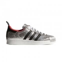 Adidas Superstar Plateadas...