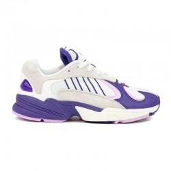Adidas Yung 1 Blancas y Lilas