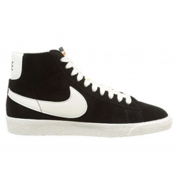 Nike Blazer Mid PRM Negras